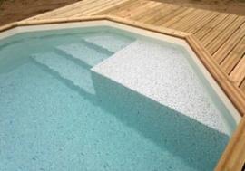 Escalier-plage - Exclusivité échelles et escalier piscine - Arizona Pool