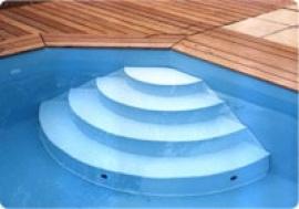 Escalier intérieur - Arizona Pool