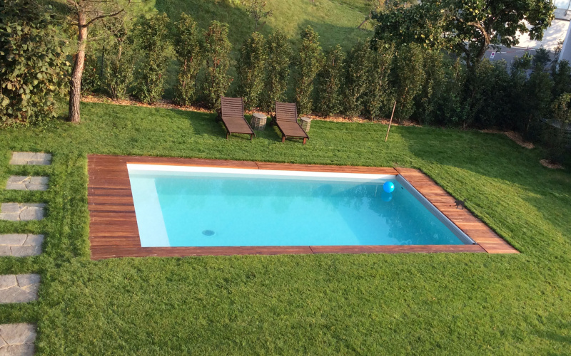 Arizona pool fabricant piscine bois enterr e et semi for Piscine albertville