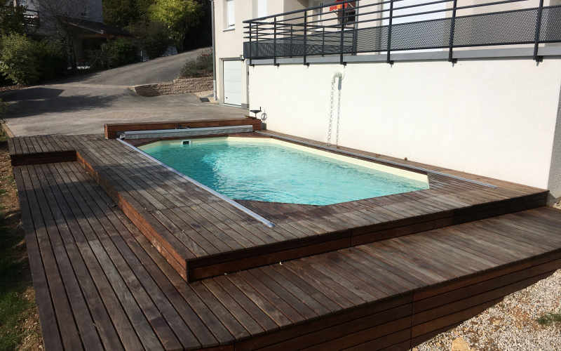 piscine bois piscine bois enterr e et semi enterr e salins les bains jura arizona pool. Black Bedroom Furniture Sets. Home Design Ideas