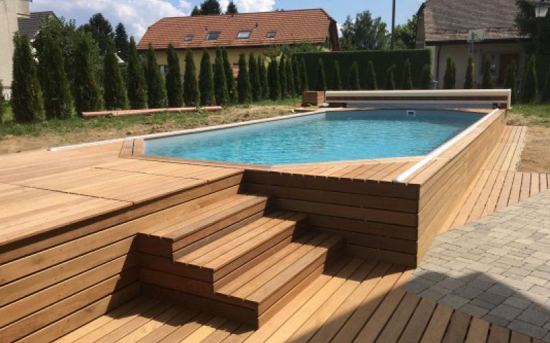 Trois aménagements pour votre piscine en bois