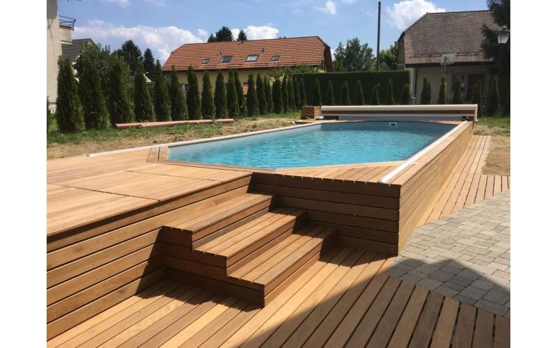 Faites construire dès maintenant votre piscine bois pour cet été