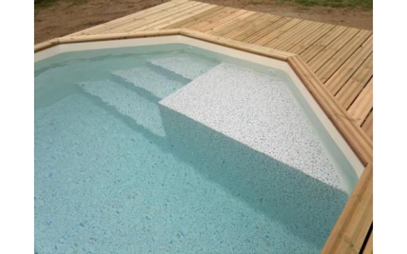 5 formes de piscines en bois proposées par Arizona Pool