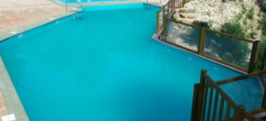 Construction de piscine publique